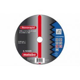 Круг отрезной METABO 616508000 Novorapid180x1.6x22.23ммsteel по металлу