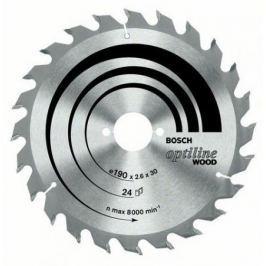 Диск пильный BOSCH Optiline Wood 190x48x20/16 (2.608.640.614) 190x48x20/16