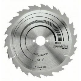 Диск пильный BOSCH Speedline Wood 160x18x20 (2.608.640.787) 160x18x20