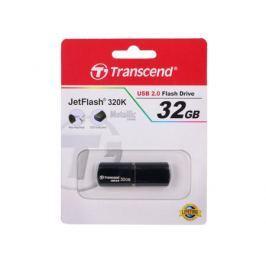 Флешка USB 32Gb Transcend JetFlash 320K TS32GJF320K черный