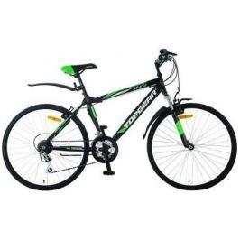Велосипед двухколёсный Top Gear Jakarta 110 черно-зеленый ВН26315Н