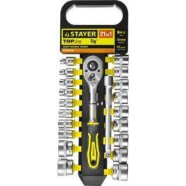Набор торцовых головок Stayer Standard 21шт 27752-H21