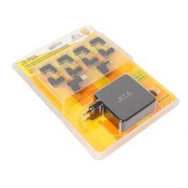 Универсальный адаптер питания для ноутбуков Jet.A JA-PA14 (45 Вт, питание от сети 220 В, порт USB, 10 переходников)