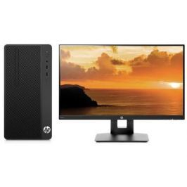 Компьютер HP 290 G1 MT Bundle (3EC05ES) i3-7100 (3.9) / 4GB / 1TB / Int: Intel HD 630 / DVD-SM / DOS (Black) + монитор HP VH240a