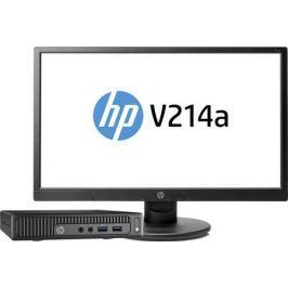 Компьютер HP 260 G2.5 DM Bundle (2TP88ES) i3-6100U 2.3GHz / 4GB / 500GB / встроенная HDG 520 / DOS / Black