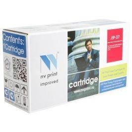 Картридж NV-Print совместимый Canon EP-27 для LBP 3200/MF5630/5650/3110/5730/5750/5770. Чёрный. 2500 страниц.