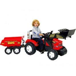 FAL1070P FALK Трактор-экскаватор педальный с прицепом