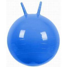 МалышОК Мяч Прыгун с рожками o500мм синий в подарочной упаковке