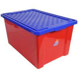 Little Angel Ящик для игрушек Лего малый 17 л красный12шт/кор