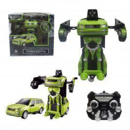 1toy Робот на р/у 2,4GHz, трансформирующийся в джип, зелёный