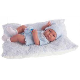Кукла-младенец Munecas Antonio Juan Нико, мальчик, в голубом 42 см 5053B