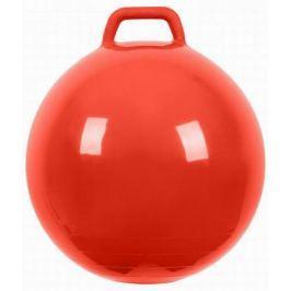 МалышОК Мяч Прыгун с ручкой o500мм красный в подарочной упаковке