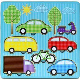 Пазл Wood Toys рамка-вкладка Средства передвижения