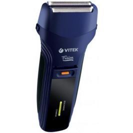 8261(B) Бритва электр. Fusion VITEK мощность: 3 Вт.Время зарядки: 6 часов.Встроенный триммер.