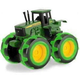 Tomy John Deere Трактор Monster Treads с бол.колесами с подсветкой,21х25х17см,кор.