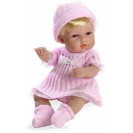 Arias ELEGANCE кукла винил. 33 см с кристалл.SWAROWSKI, в одежде роз., в кор 20*12*35 см.