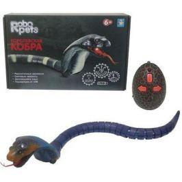 1toy, Королевская кобра (синяя) на ИК управлении, 45 см