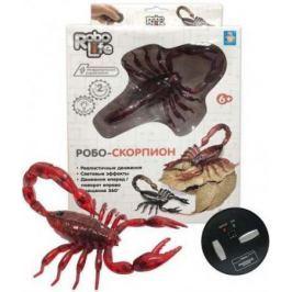 1toy, Робо-скорпион на ИК управлении (красный), свет эффекты, 27*17,5*5,2
