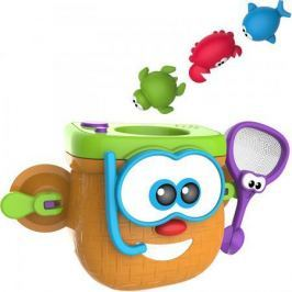 1toy Kidz Delight Игрушка для ванны Корзинка рыбака, 34*12*28см., кор.