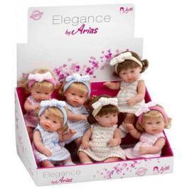 Arias ELEGANCE кукла винил.в платье,33см,6 в.,6 шт.в д-боксе,бирка