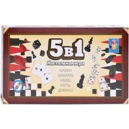 1toy Игра настольная 5в1