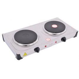 Электроплитка SMILE DEP 9015 (2 нагревательных диска по 155 мм мощностью по 1000 Вт; Плавно регулируемый термостат; Большая ; Материал корпуса