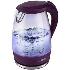 Чайник LUMME LU-216, 2200Вт, 2л, стекло, темный топаз