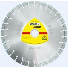 Круг алм. KLINGSPOR DT 600 U SUPRA 230 X 2.6 X 22 (322634) сегментный