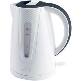 Чайник Smile WK 5308, 2200Вт, 1.7л, пластик, белый