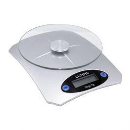 Весы кухонные LUMME LU-1319 серебристый