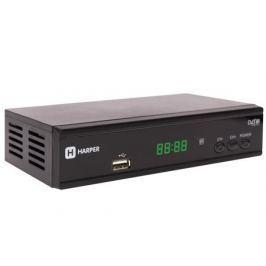 Цифровой телевизионный DVB-T2 приемник HARPER HDT2-2015 с функцией FULL HD медиаплеера