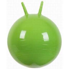 МалышОК Мяч Прыгун с рожками o500мм зеленый в подарочной упаковке