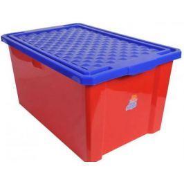 Little Angel Ящик для игрушек Лего большой 57 л красный 5шт/кор