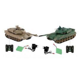 YAKO, Танк в наборе (Бой р/у танка M1A2 и ДОТа, Масштаб 1:24), M6571-2