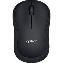 Мышь Logitech Wireless Mouse B220 Silent Black USB оптическая, 1000 dpi, 3 кнопки + колесо