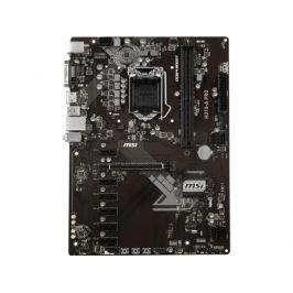 Материнская плата MSI H310-A PRO (S1151, B360, 2*DDR4, 1*PCI-E16x, 6*PCI-E1x, DVI, HDMI, SATA III, GB Lan, USB3.1, ATX, Retail)