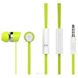 Гарнитура HARPER KIDS HV-104 Проводные / Вставные с микрофоном / Зеленый / 20 Гц - 20 кГц / Двухстороннее / Mini-jack / 3.5 мм