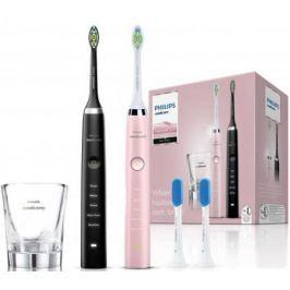 Зубная щётка Philips HX9368/35 Sonicare 3 Series gum health (2шт) розовый/черный