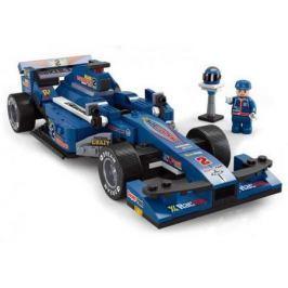 Конструктор SLUBAN Синий гоночный автомобиль M38-B0353 277 элементов