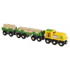 Товарный поезд Brio «Лесовоз» 33775
