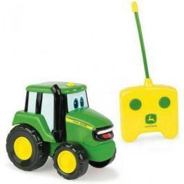 Tomy John Deere трактор Джонни на р/у с пультом,15х28х11см,кор.