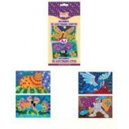 Набор для творчества Мозаика из блестящих плиток и страз 2 в 1, коробка с е/п