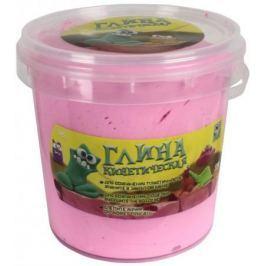 1toy Кинетическая глина, светло-розовая, банка 230гр