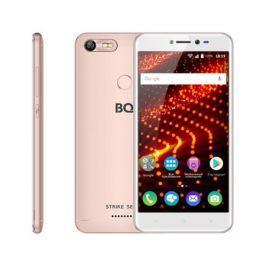 Смартфон BQ-5204 Strike Selfie Rose Gold MediaTek MT6580(1.3GHz)/1GB/8GB/5.2