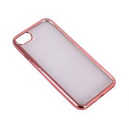 Силиконовый чехол с рамкой для iPhone 7 DF iCase-08 (rose gold)