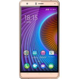 "Смартфон BQ 5503 NICE2 Gold MediaTek MT6737 (1.3) / 1GB / 8GB / 5.5"" 1280x720 IPS / 2Sim / 3G / 4G LTE / 13Mp, 5Mp / Android 7.0"