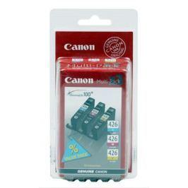 Картридж Canon CLI-426 C/M/Y для iP4840, MG5140, MG5240, MG6140, MG8140 .(3 картриджа в упаковке). Цветной. 446 страниц.