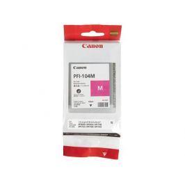 Картридж Canon PFI-104 M для плоттера iPF750. Пурпурный.
