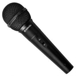 Микрофон Defender MIC-129 Black 5м кабель, 73дБ
