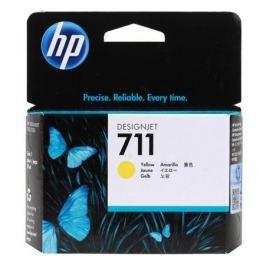 Картридж HP 711 с желтыми чернилами 29мл CZ132A